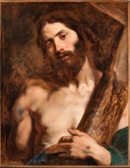 """Van Dyck""""Cristo portacroce""""Genova, Musei di Strada Nuova"""