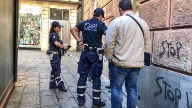 fermo polizia locale banchi