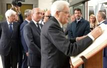 firma del libro storico del Gaslini