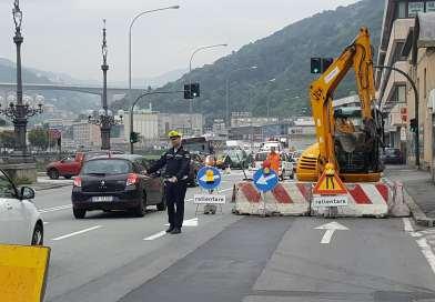 Lungobisagno Istria chiuso in direzione monte dal 23 luglio al 3 agosto