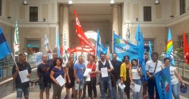 Pulizia dei treni e stazioni, addetti in sciopero davanti a Principe