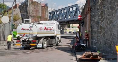 Rimozione del ponte in netto anticipo, riapertura della strada nel primo pomerigio e non domani