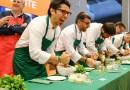 Pesto al mortaio e Focus Homini, la sfida nelle cucine di RistorExpo