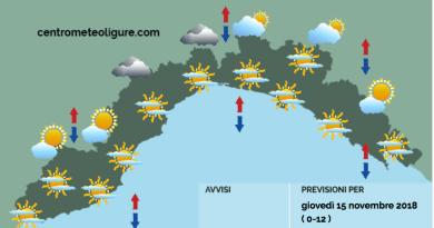 Meteo Limet: ultimi giorni di alta pressione. In arrivo aria fredda di origine siberiana