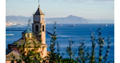 """Calendario dell'Avvento del Comune – 8 dicembre: """"Crevari, chiesa, ulivi e mare"""""""