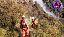 volontari antincendio boschivi portofino