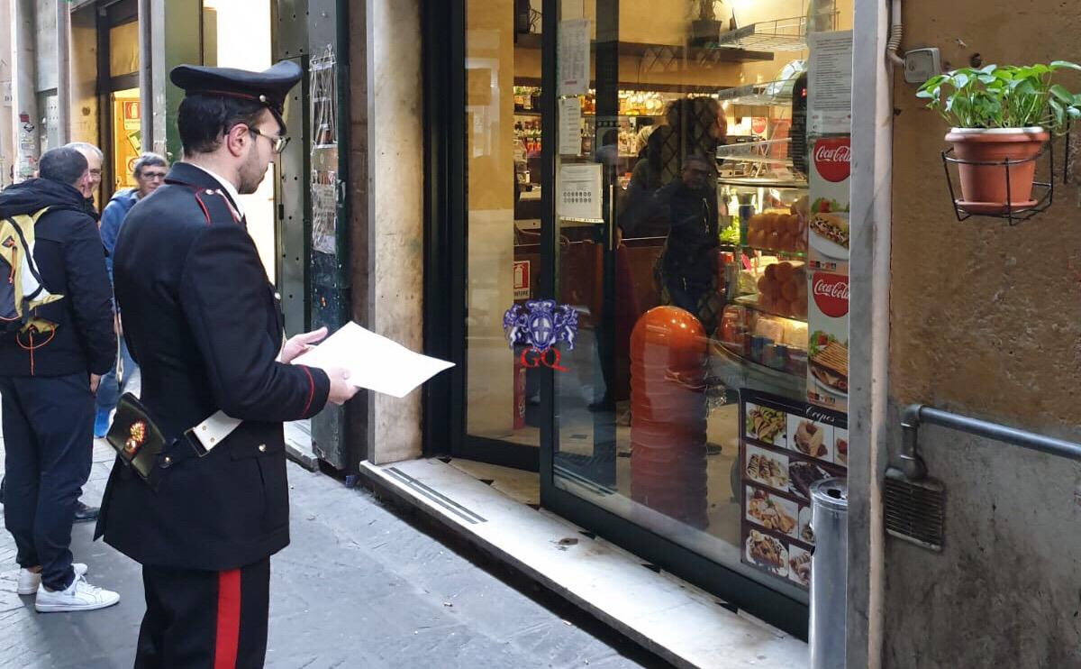 Spaccio nel bar in San Luca, i carabinieri chiedono e ottengono la chiusura