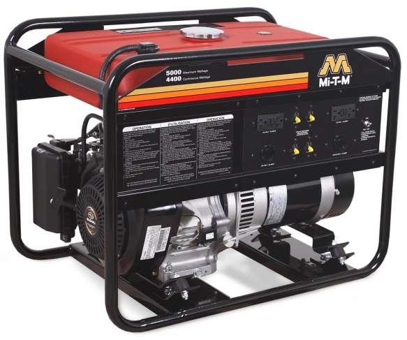 Mi-T-M GEN-5000-0MS0 gas generator