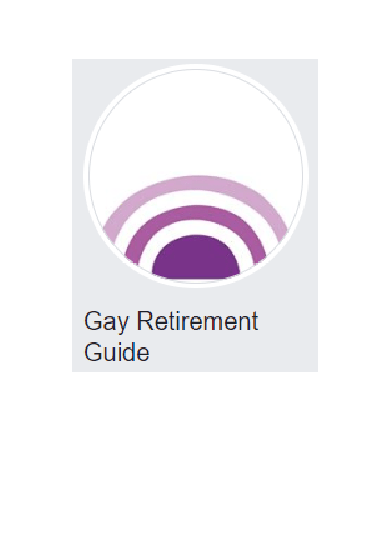 Gay Retirement Guide logo