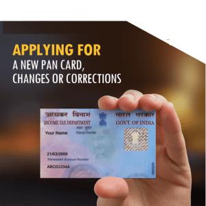 Apply PAN Card Online in 2019