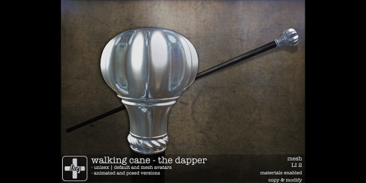 Hate This - Walking Cane (The Dapper)