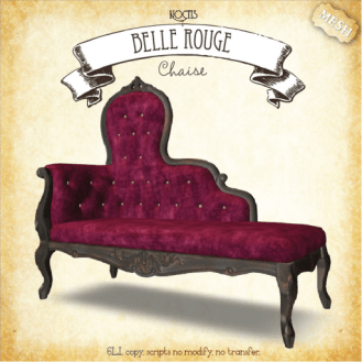 Noctis - Chaise