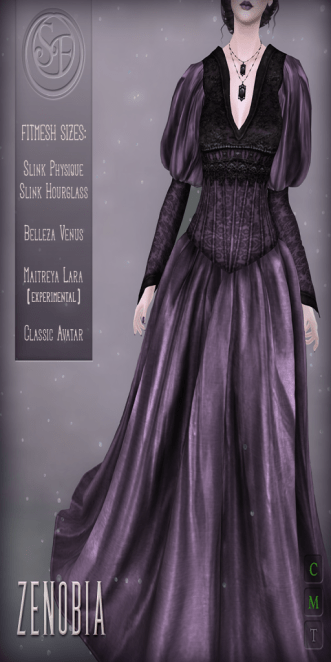 ._SF_. _Zenobia_ Gown Ad
