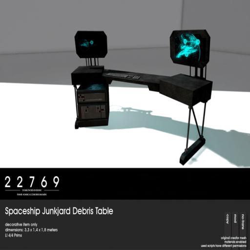 22769 - Spaceship Junkjard Debris Table [ad]