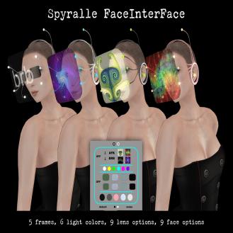 Spyralle FaceInterFace Options