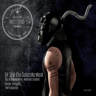 [ west end ] EK-Styl-Eho GalactiKa Mask AD - 25% Off