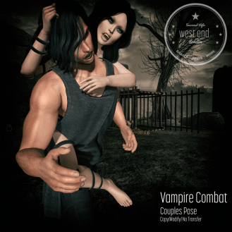 [ west end ] Poses - Vampire Combat AD - 25% Off