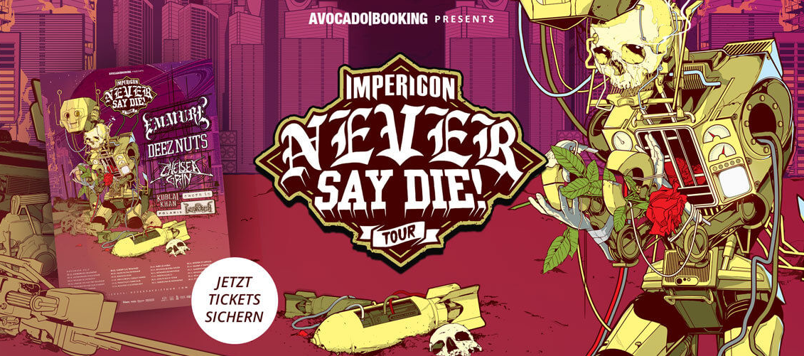 Never Say Die Tour Is Coming To A Town Near You Genre Is Dead