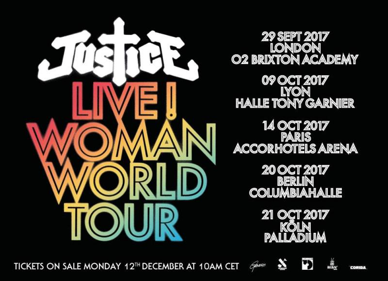 Justice Woman World Tour