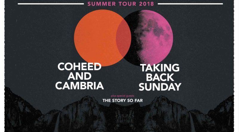 Taking Back Sunday, Coheed and Cambria