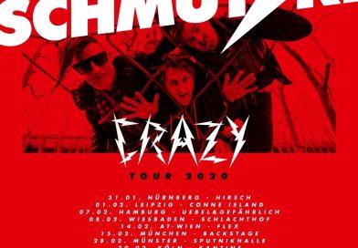 Tourankündigung: Schmutzki – CRAZY Tour 2020