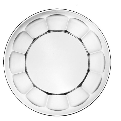 Scalloped Plate, 7""