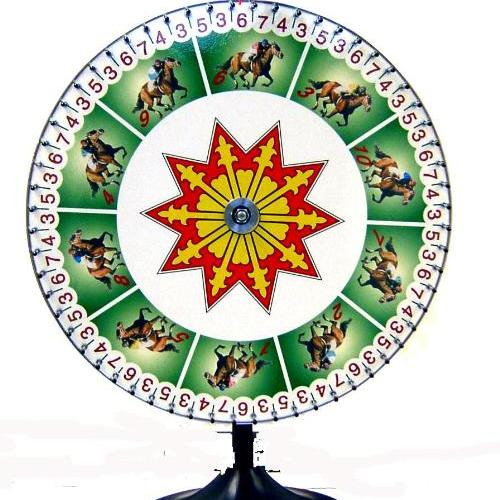 Horse Race Wheel