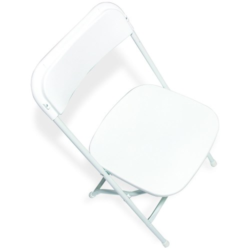 White Plastic - Outdoor, white wedding, outdoor wedding chair