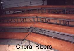 Choral Risers