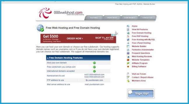 Register Free Domain Name