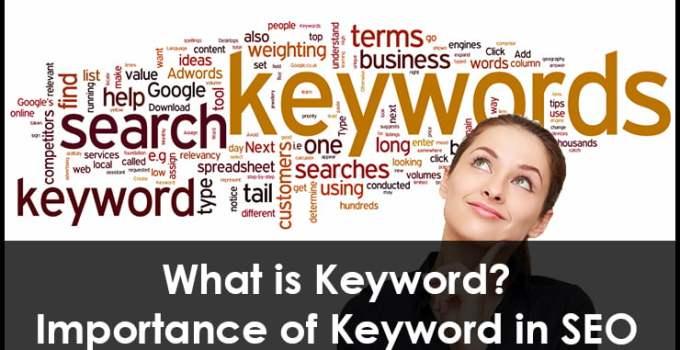Importance of Keyword