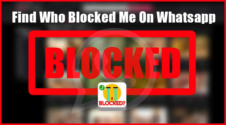 How To Know Who Blocked Me On Whatsapp? Girl or a Boy?