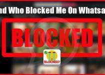 who blocked me on whatsapp
