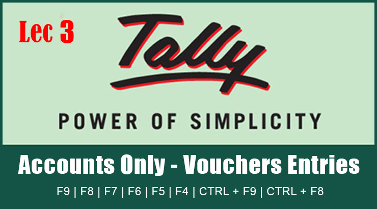 Pass Journal Entry in Tally ERP 9 Tutorial Upgrade Syllabus -Lec3