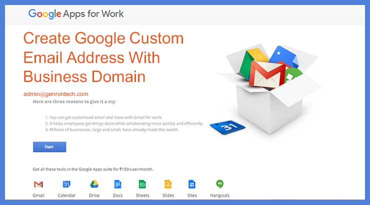 Create Google custom email address for Free – 6 Stage Steps