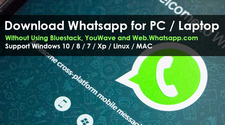 WhatsApp For PC/Laptop Without Bluestack | Youwave | Web.whatsapp.com