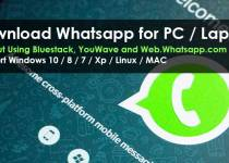 WhatsApp For PC/Laptop Without Bluestack