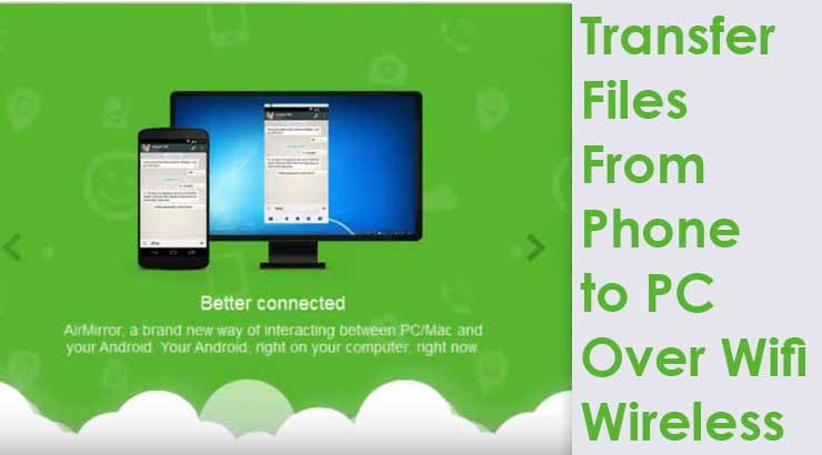 One Best Way to Transfer Files From Android Phone to PC Wifi | Without USB Cable