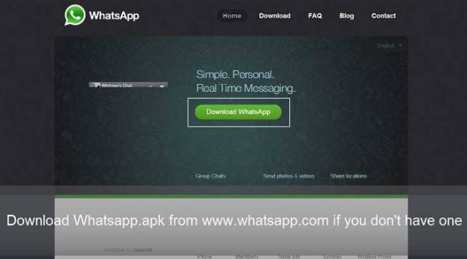 WhatsApp For PC Laptop Without Bluestack