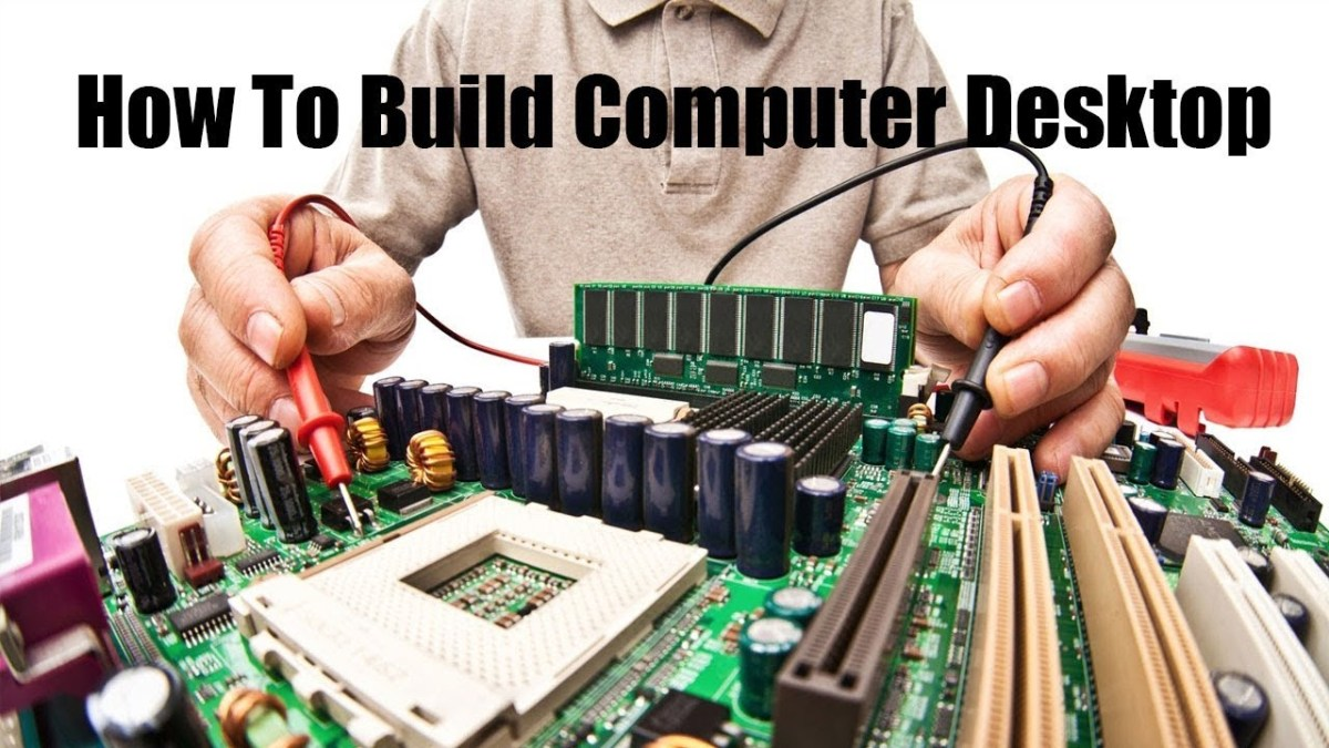 How to build a computer from scratch with Video Tutorial