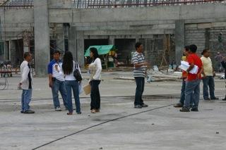 City engineers at work