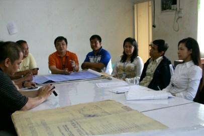 City Engr Mark Reyes & Staff