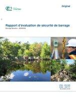 Rapport d'évaluation de sécurité du barrage du lac Beaulne