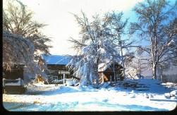 Barn at the Old Cline House, Kannapolis, Cabarrus County, North Carolina