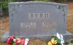 Carrie S. and William H. Byrd