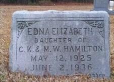 Edna Elizabeth Hamilton