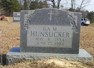 Hunsucker_IlaM_LibertyHillBapt_MtGileadMontgomeryCoNCb