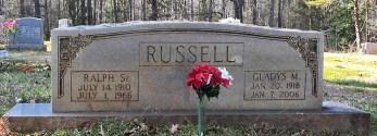 Russell_RalphSr_and_GladysM_WhiteCrestBapt_MtGileadMontgomeryCoNC