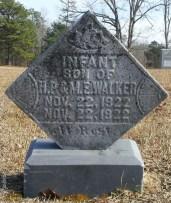 Walker_InfantSon1922_LibertyHillBapt_MtGileadMontgomeryCoNC
