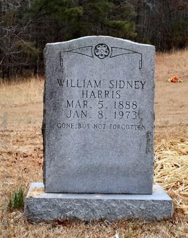 Harris_WilliamSidney_StoneyForkBapt_MtGileadMontgomeryCoNC